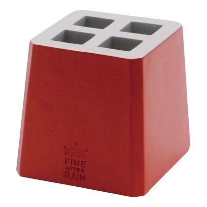 アンブレラキーパー カラーブロック RED W105×D105×H105mm K924RD