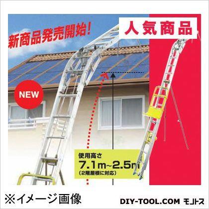 【送料無料】長谷川工業 パネルボーイ太陽光発電システム施工用昇降機ソーラーパネル運搬用はしご PV-MZ42連はしご