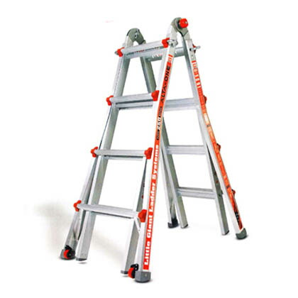 ハセガワアルミ合金製伸縮式はしご兼用脚立   LG-10302