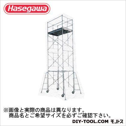 高所作業台ローリングタワー(10703)  全高(m):7.65 SM-4段