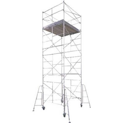 ハセガワアルミ製ローリングタワーBMA型1段  全高(m):1.78 BMA-1段
