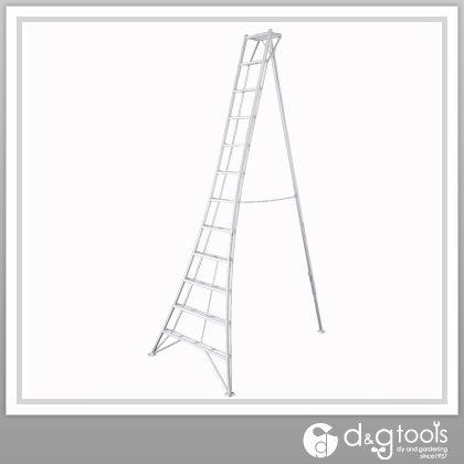 アルミ園芸用三脚脚立グリーンステップ  3.6m GSC-360T