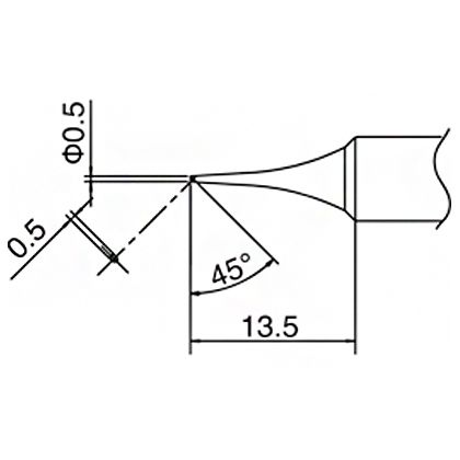 こて先0.5C型   T18-C05