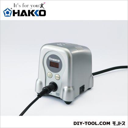 ハッコーFX-888D100V2極接地プラグ シルバー  FX888D-01SV