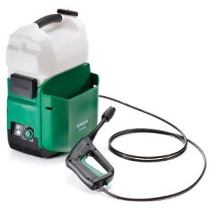 日立14.4Vコードレス高圧洗浄機本体のみ  L×W×H(mm):320×290×500 AW14DBL (NN)