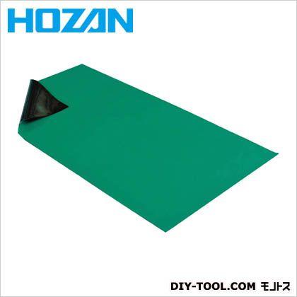 HOZAN導電性カラーマット1X1.8Mグリーン  サイズ:1000×1800mm F-727