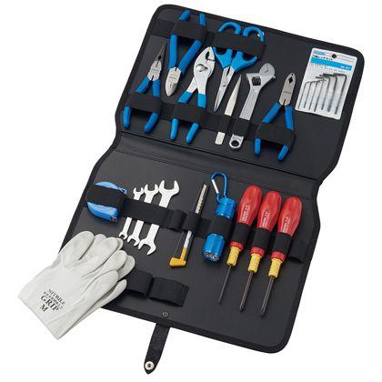 【送料無料】ホーザン/HOZAN 工具 セット S-372 工具箱 ツールセット 手動工具セット