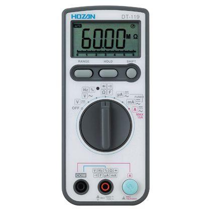 【送料無料】ホーザン/HOZAN デジタルマルチメータ DT-119