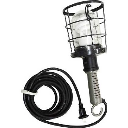 【送料無料】ハタヤ/HATAYA ハタヤ防雨型蛍光灯ハンドランプ単相100V10W電線5m付 364 x 168 x 179 mm CWF-5D
