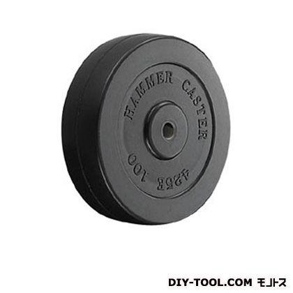 車輪(ゴム一体車輪)  100mm 425E-R100