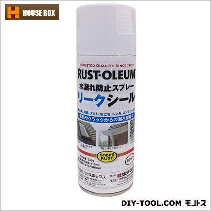 リークシール水漏れ防止スプレー ホワイト  19010902
