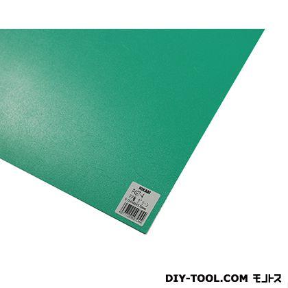 PP板 グリーン 485mm×570mm×0.75mm P497-4  0