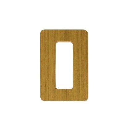 簡易内窓用取っ手PTT9561パック2個入り 木目 外寸:90×55×2mm PTT956