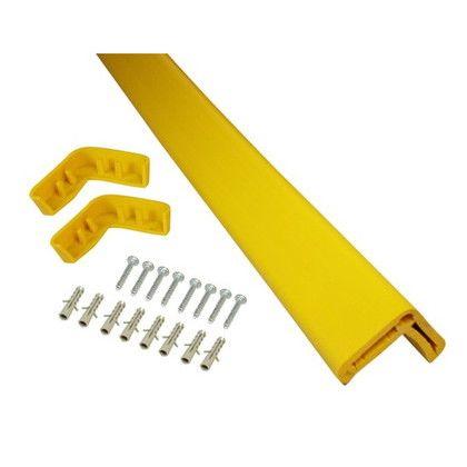 L型プロテクター 黄色 約60×60×1000mm KLSPS-106