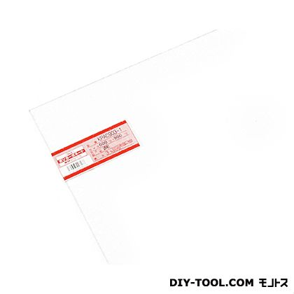 【送料無料】光 ポリカーボネート板 600×900×3mm 透明 KPAC903-1 1枚