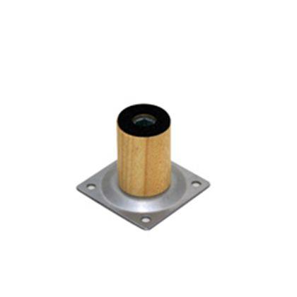 家具用丸脚(1本)木製  33×50mm KSW-3305  0