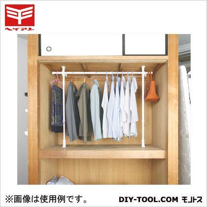 平安伸銅工業 突ぱりクローゼットハンガー 白 TCH-60