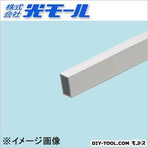 アルミ角パイプ シルバー 15×25×1.5×1000(mm) 554