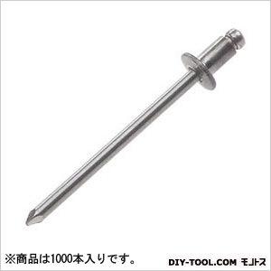【送料無料】ヒット ブラインドリベット スチールフランジスチールシャフト 100 x 150 x 110 mm HSS45 1000本