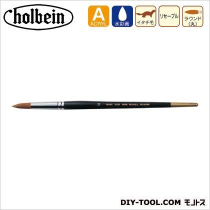 ホルベイン画材 水彩筆パラリセーブル350Rー0 筆 図工 小筆
