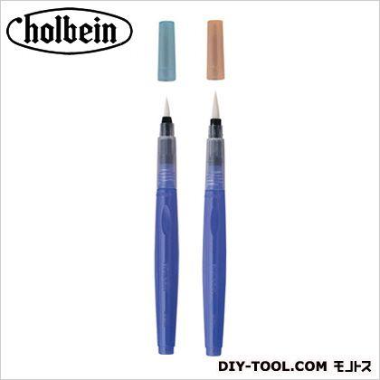 ホルベイン画材 水彩水筆ペンツインセット