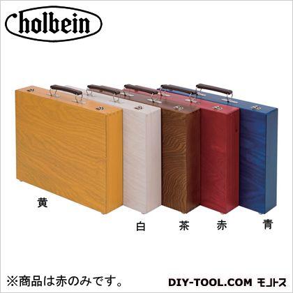 ホルベイン画材 木の鞄A4赤