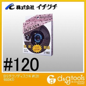 BSテクノディスクA100X15#120  #120 60043
