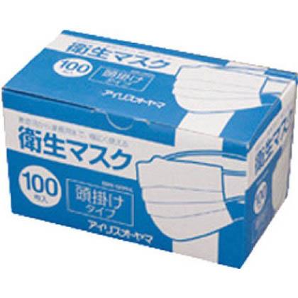 衛生マスク100P頭掛けタイプEMN-100PHL   EMN-100PHL 100 枚