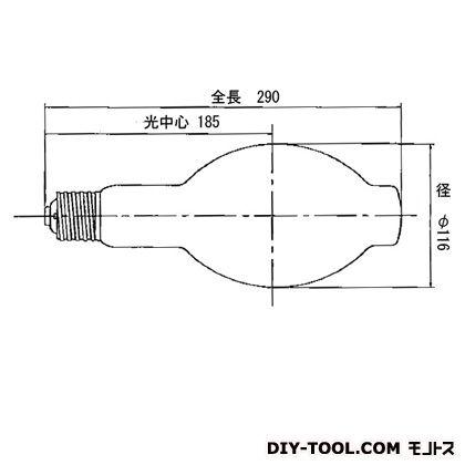 岩崎電気 メタルハライドランプFECマルチハイエースH 400W MF400LSH2/BUS