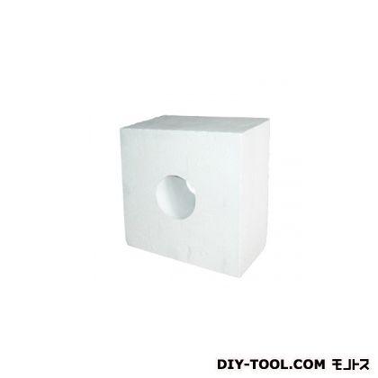 イソライト工業 イソライトメガネ石120×100 φ120用(穴径130mm) D-092