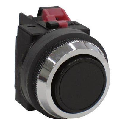平形押しボタンスイッチ 赤  ABN101R