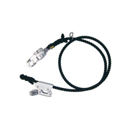 柱上安全帯用セフティロープ(軽量タイプ)   DB-200FCS-BK