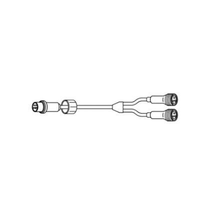 デンサン LEDピカライン(ローボルト24V) PLD-Y50