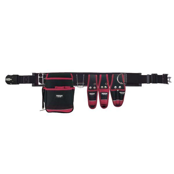 電工プロキャンバス腰道具セット   JNDS2-97BK-SET