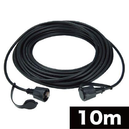 屋外用LANコネクタ付ケーブル  10m LCAT5E-10WP