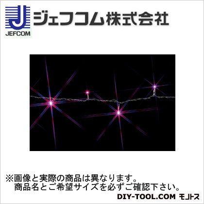 デンサン LEDストリングライト ピンク/ピンク 10m SJ-E05-10PP