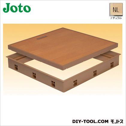 高気密床下点検口 ナチュラル 600×600×77.5mm SPF-R6060F15-NL