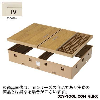 高気密床下点検口標準型 アイボリー  SPF-R9060F12-IV