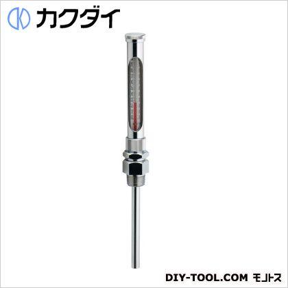 【送料無料】カクダイ(KAKUDAI) ガラス製温度計(ストレート型) 649-902-100