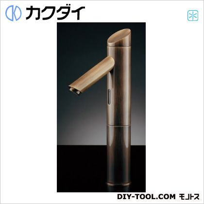 【送料無料】カクダイ/KAKUDAI センサー水栓(トール・オールドブラス)   713-334  センサー水栓単水栓