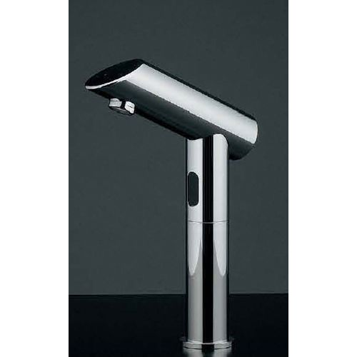 【送料無料】能(のう) センサー水栓(トール) 黒・メタル  713-348 1 センサー水栓単水栓