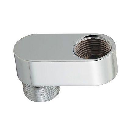 露出型偏芯ザルボ クローム(メタル) 25×50 611-820-50