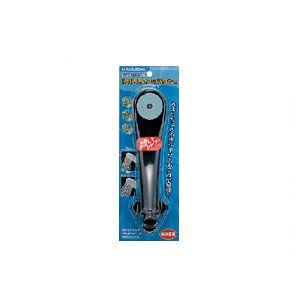 カクダイ(KAKUDAI) 低水圧用シャワヘッド(シャワーヘッド) ブラック 356-200-D