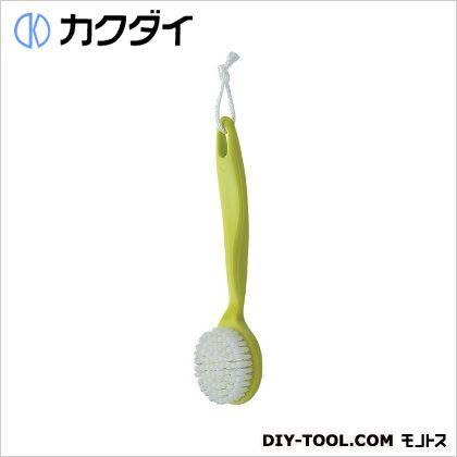 カクダイ/KAKUDAI シャワブラシ(浴室用) グリーン 605-102-G