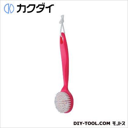 カクダイ/KAKUDAI シャワブラシ(浴室用) ピンク 605-102-P