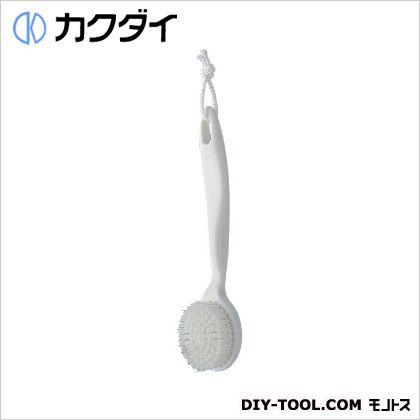 カクダイ/KAKUDAI シャワブラシ(浴室用) ホワイト 605-102-W