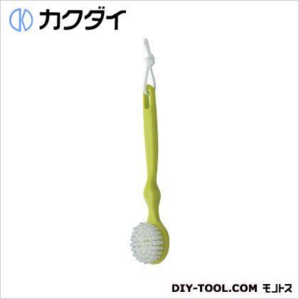 カクダイ/KAKUDAI シャワブラシ(洗面用) グリーン 605-103-G