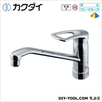 シングルレバー混合栓(分水孔、取付アダプターつき)   117-064