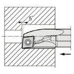 内径加工用ホルダ   A25S-SCLCR09-27AE