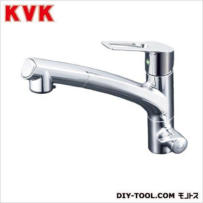 浄水器専用シングルレバー式シャワー付混合栓  奥行×高さ:250×679mm KM5061NEC